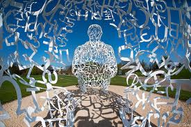 Juame Plensa sculpture