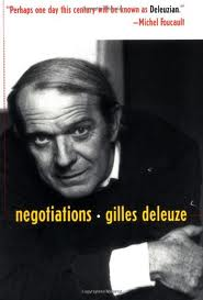 deleuze - negotiations