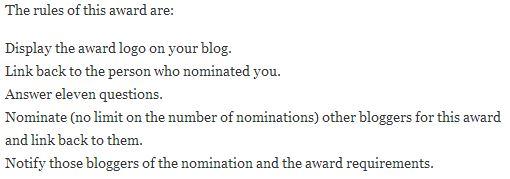 Award Rules