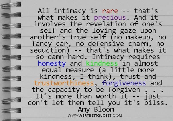 Intimacy - Amy Bloom