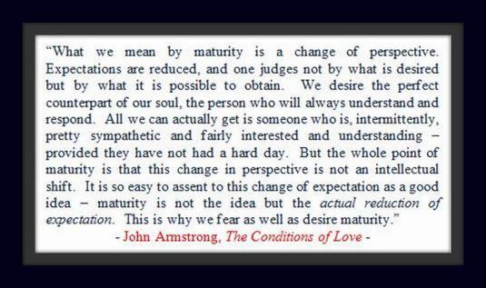 Maturity - John Armstrong
