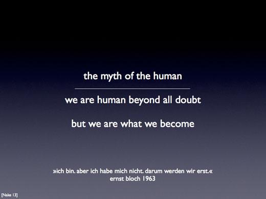ernst bloch - human