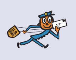 Mail carrier logo