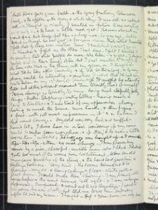 cursive journaling