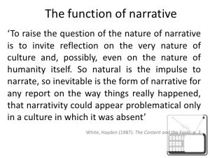 Narrative Construction