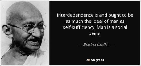 Ghandi - Interdependence