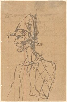 Picasso_Harlequin sketch