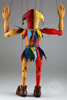 Czech-Marionettes-wooden-joker-czech-marionette-puppet-3.7ac6