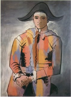 harlequin-with-his-hands-crossed-jacinto-salvado-1923