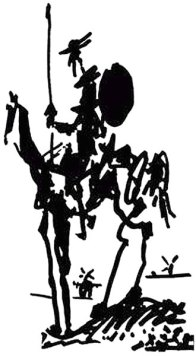 Picasso - don quixote