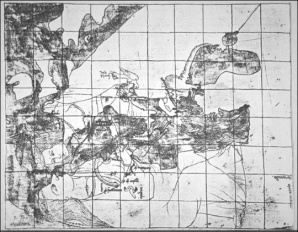 Opicinus De Canistris World Map